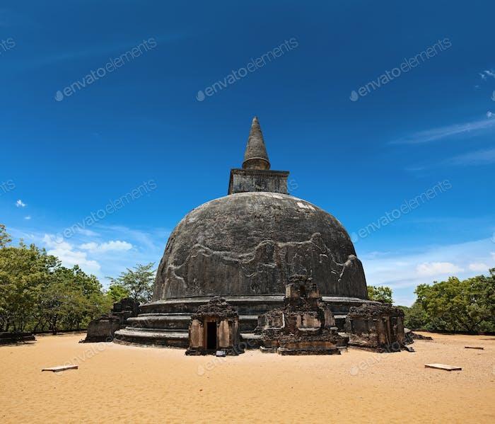 Kiri Vihara - ancient buddhist dagoba (stupa