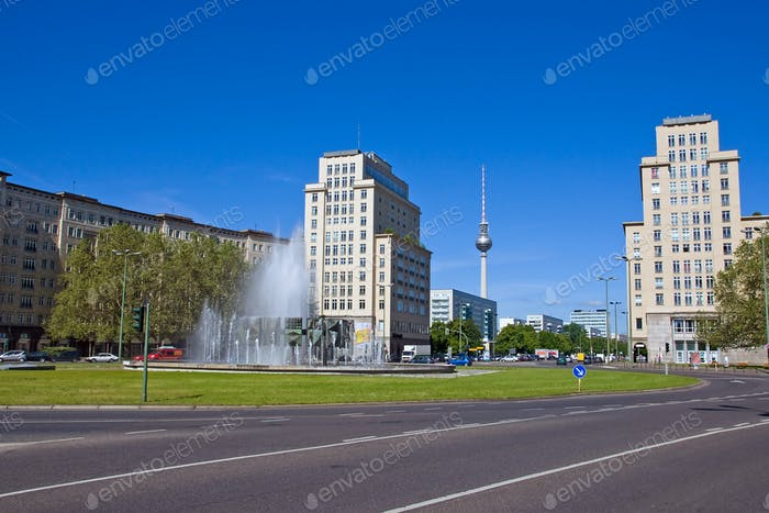 The Strausberger Platz in Berlin