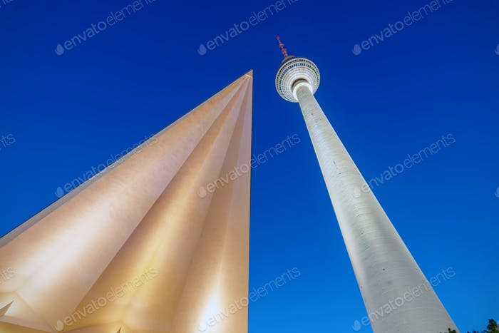 Different view of the TV Tower