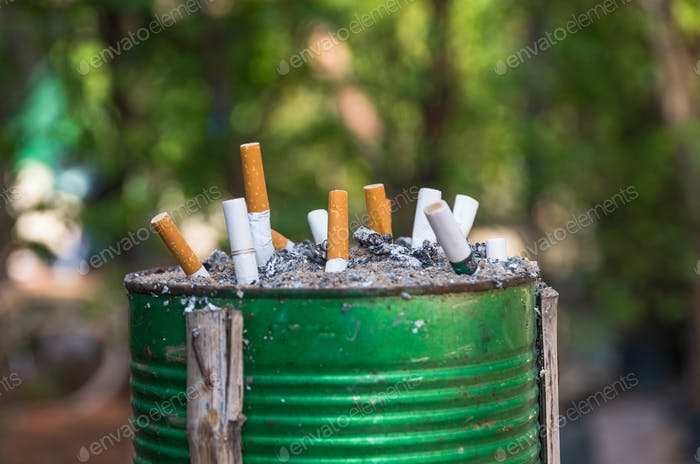 Cigarette, Smoking, Ashtray