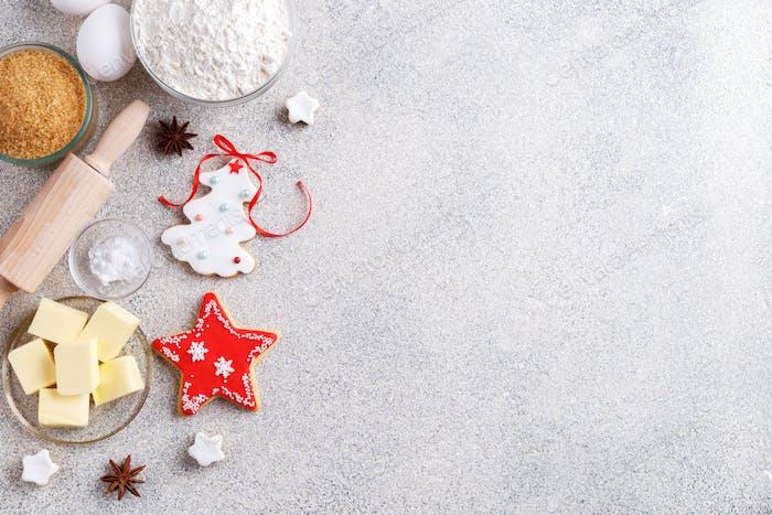 Weihnachten Backhintergrund