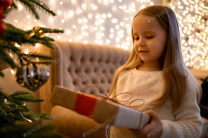 Little one and Christmas magic