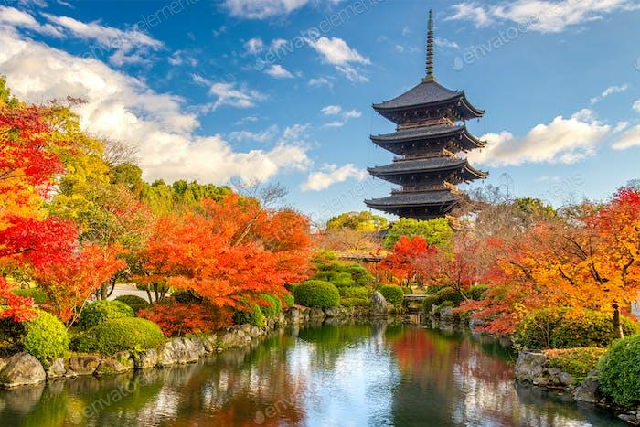 Kyoto Japan Pagoda