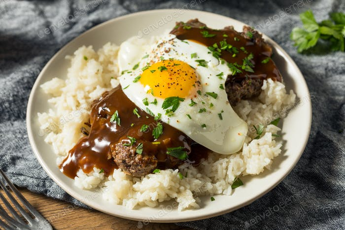 Homemade Hawaiian Loco Moco