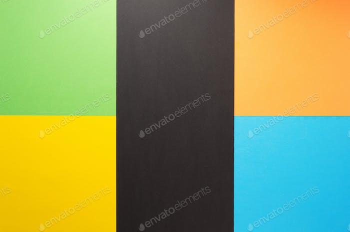 abstrakter farbenfroher Papierhintergrund