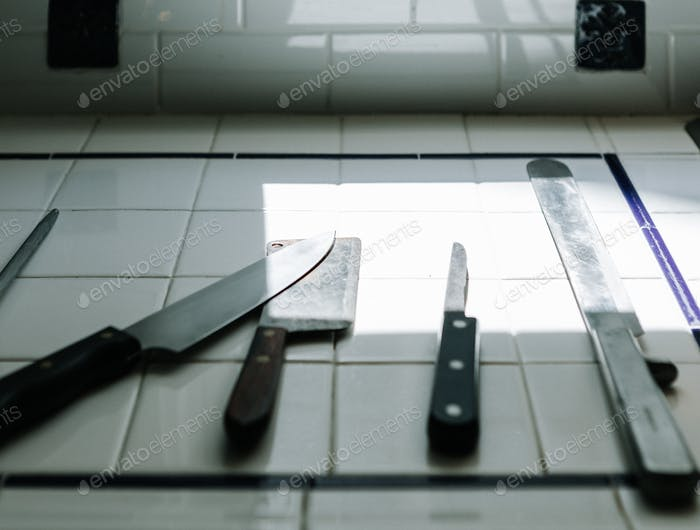 Knives on the Counter