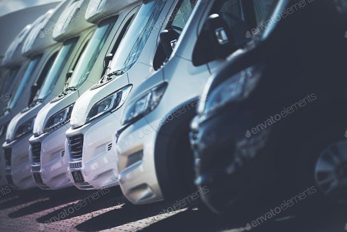 RV Motorhomes Industry
