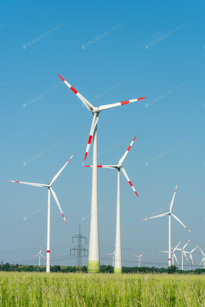 Wind energy generators in Germany