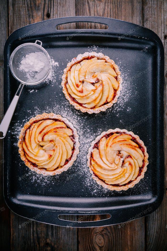 traditionelle Kuchen Apfelkuchen