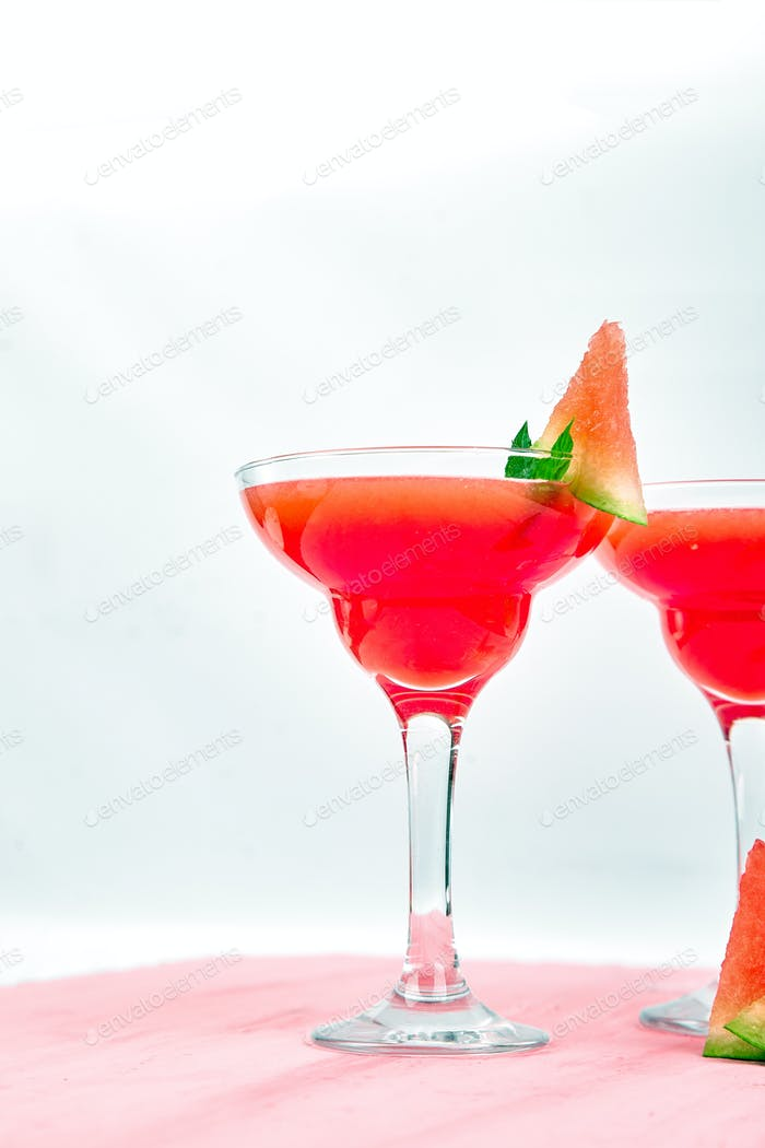 Wassermelone Margarita Cocktail