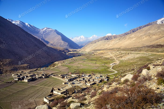 Small village in Tibet