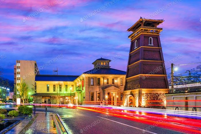 Kofu, Japan Cityscape