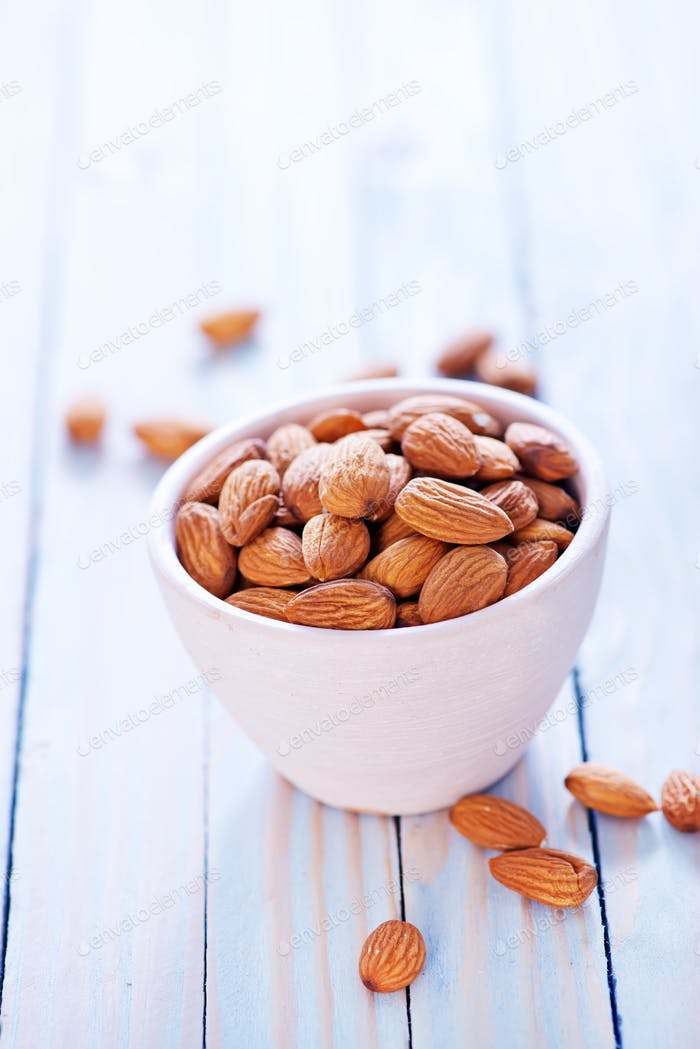 almond without shell
