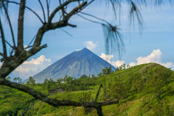 Mount Inarie in Flores