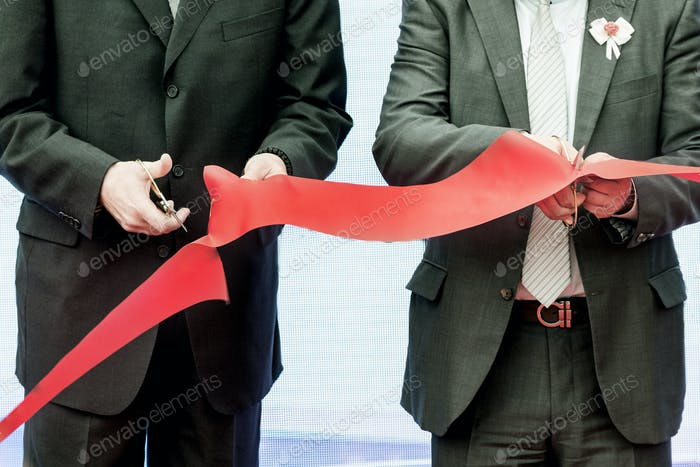 Ribbon cutting ceremony