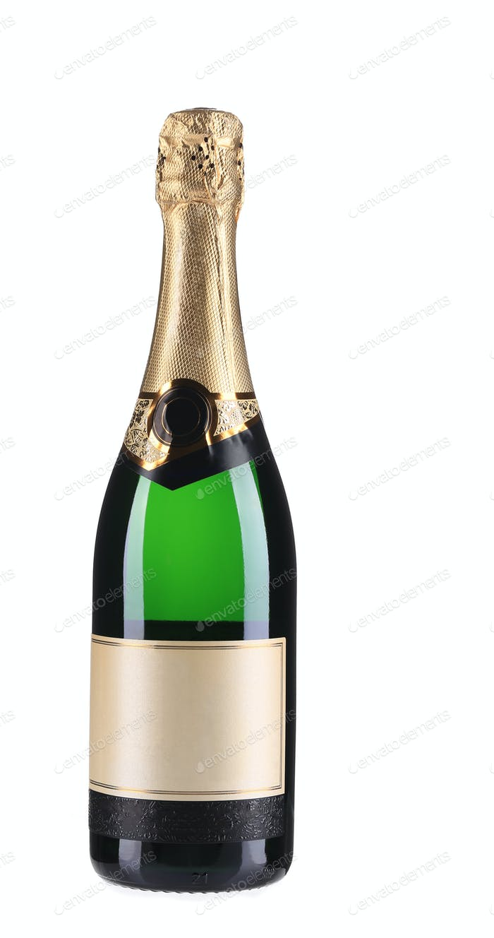 Flasche Champagner.