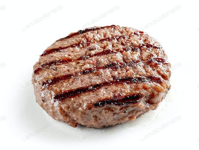 frisch gegrilltes Burgerfleisch