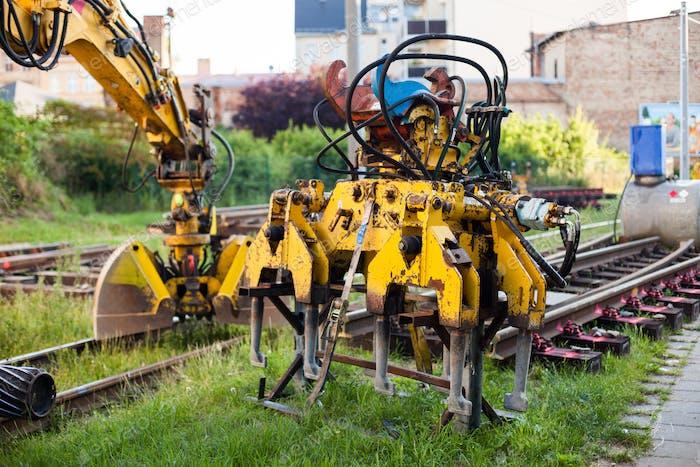 Railway construction equipment