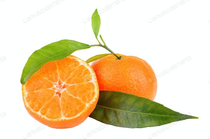Zwei Mandarinen