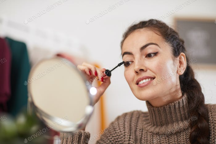 Young Woman Doing Makeup