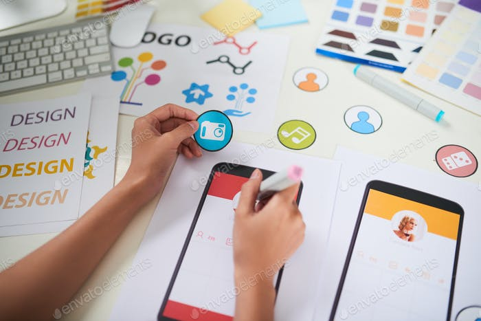 Visualization of Creative Business Ideas