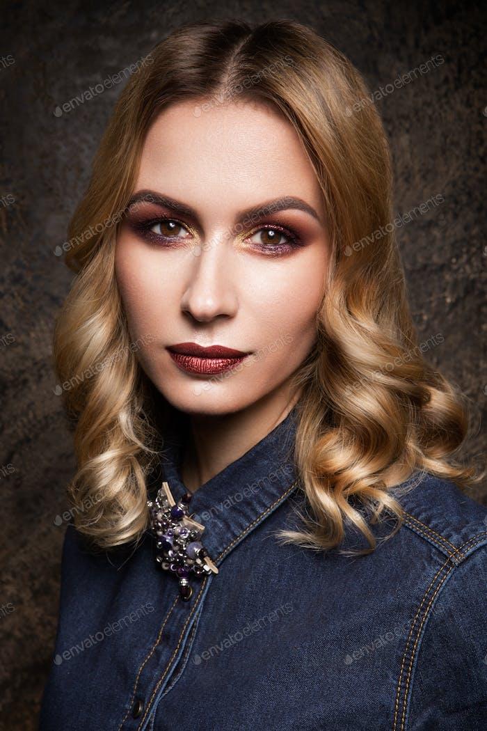 Blondie Woman Fashion Model