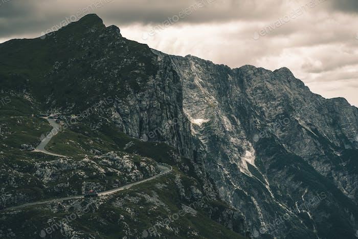 Mangart Berg Slowenien