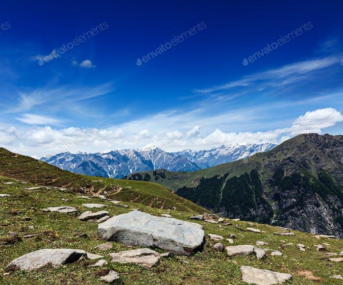Himalayas. India