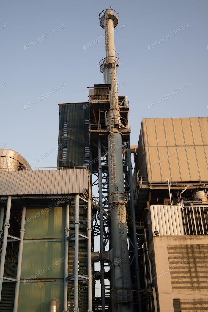 Incinerator for municipal waste