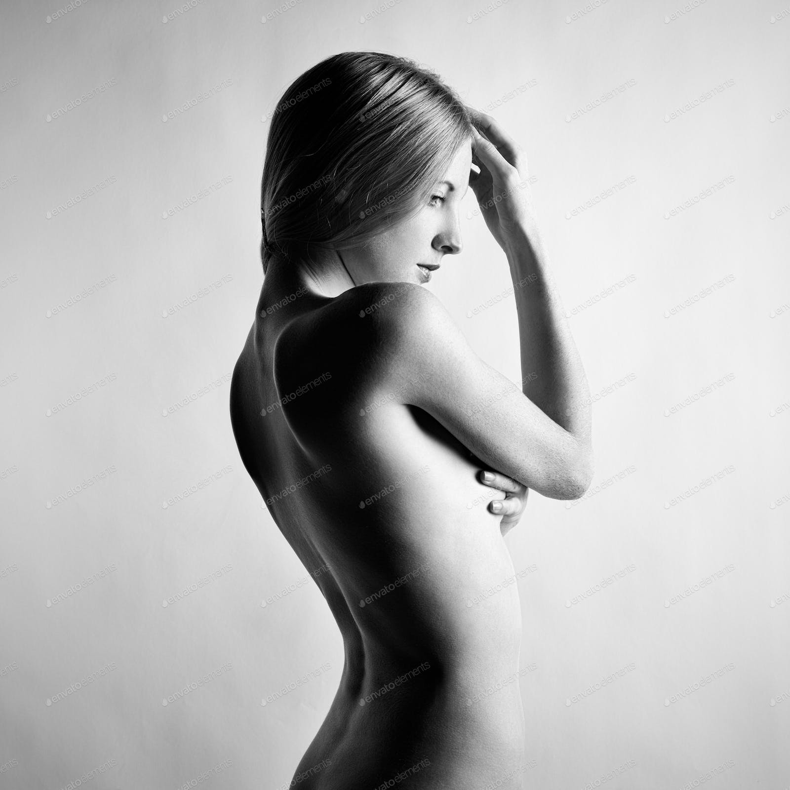 Model nudist The naked