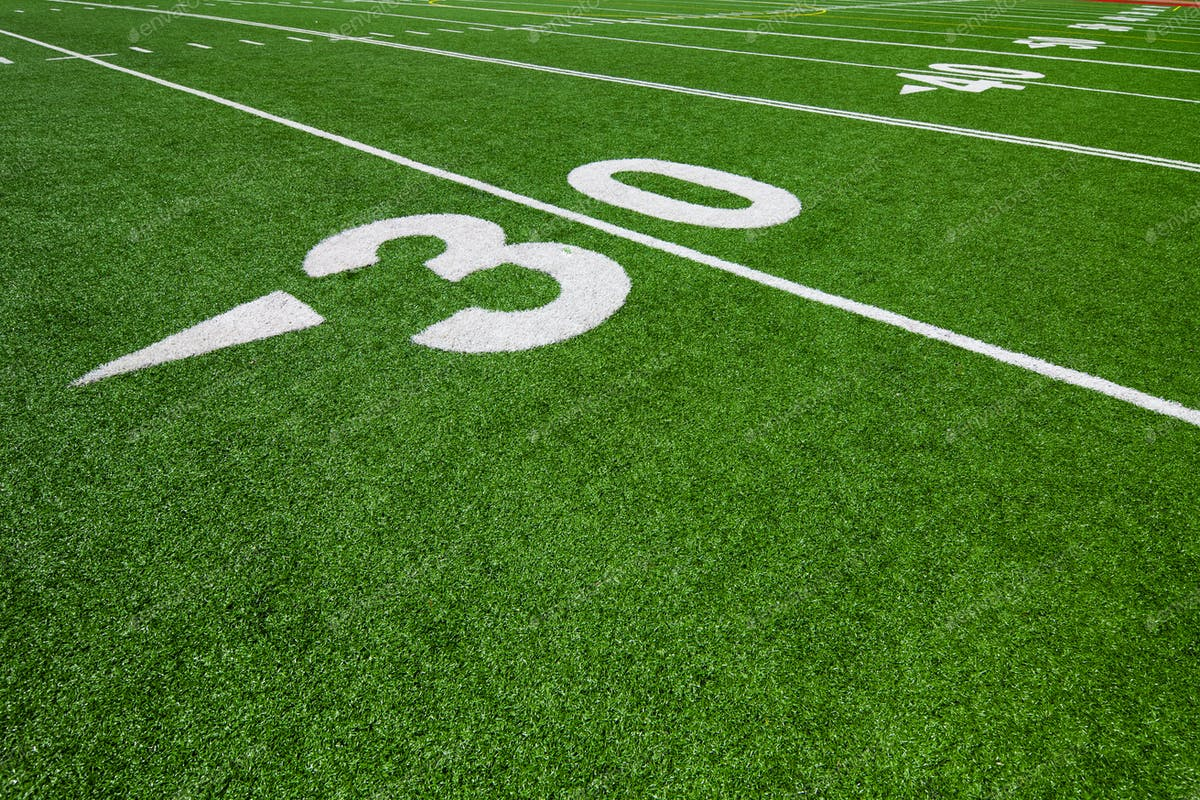 Thirty Yard Line Football Photo By Aetb On Envato Elements