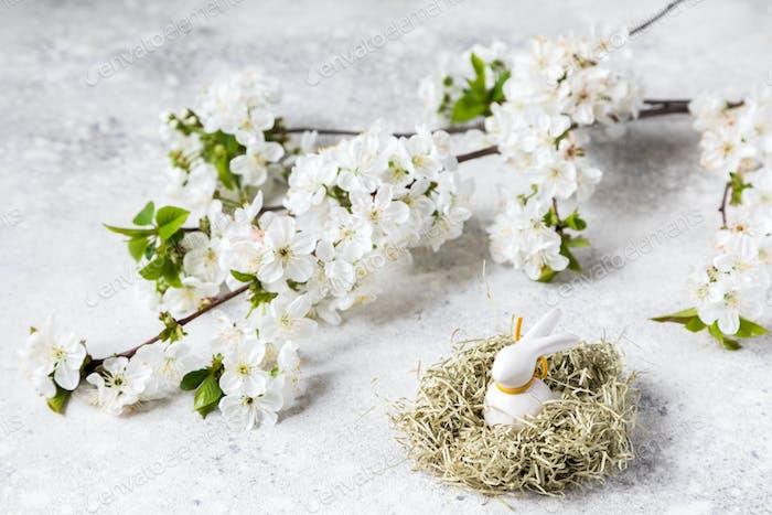 Easter composition .Spring Festival
