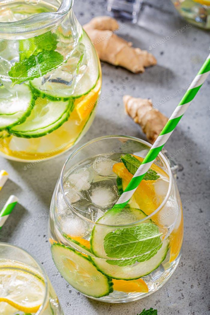 Summer healthy cocktails