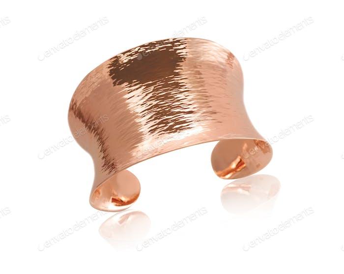 Armband aus Kupfer, Roségold
