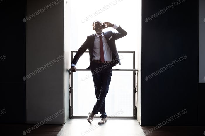 Businessman Enterprize Urban Occupation Man Concept