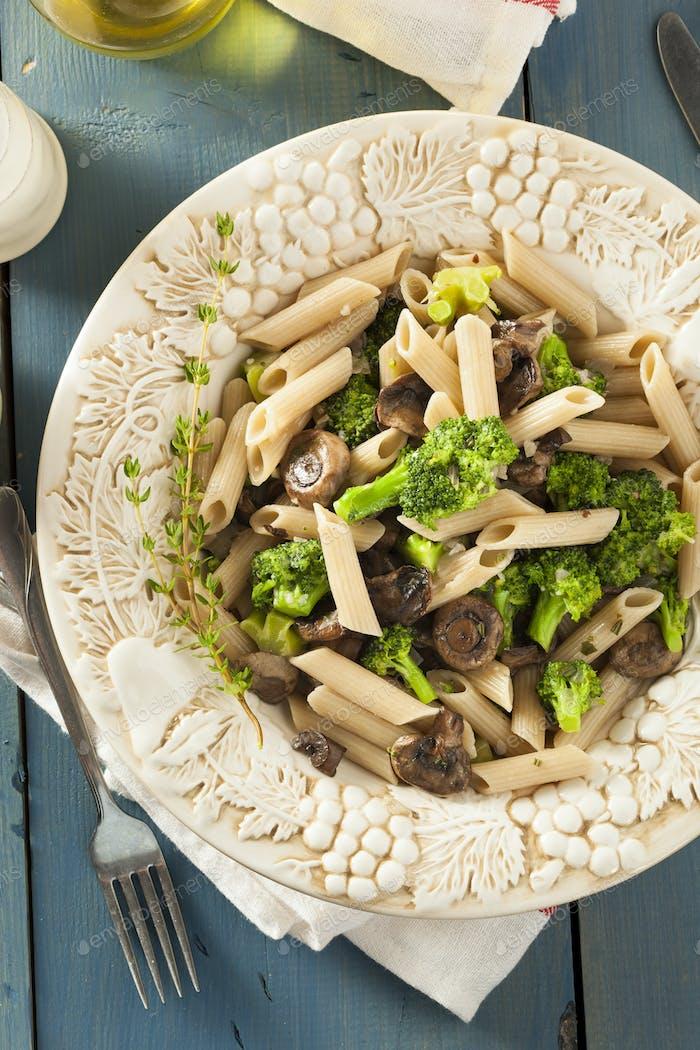 Homemade Broccoli and Parmesan Pasta