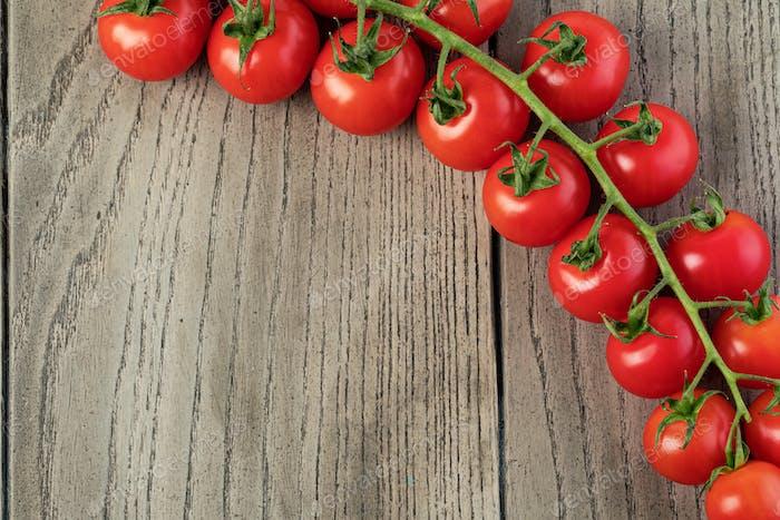 Tomatoes cherry branch