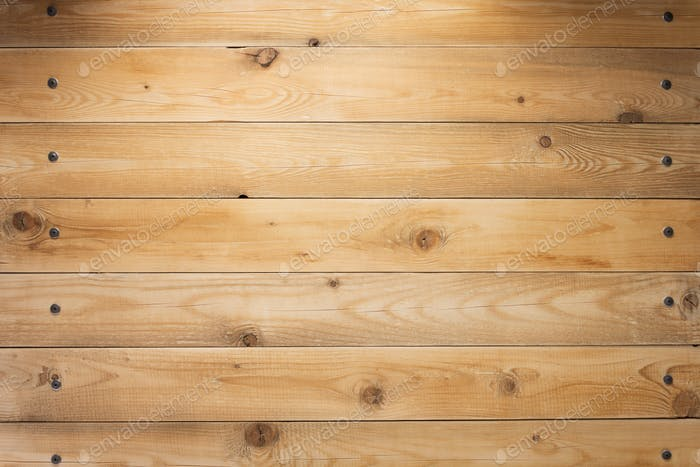 wooden background as texture surface with screws