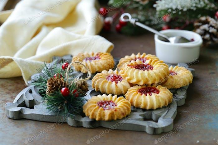 Feiertagsplätzchen Weihnachten