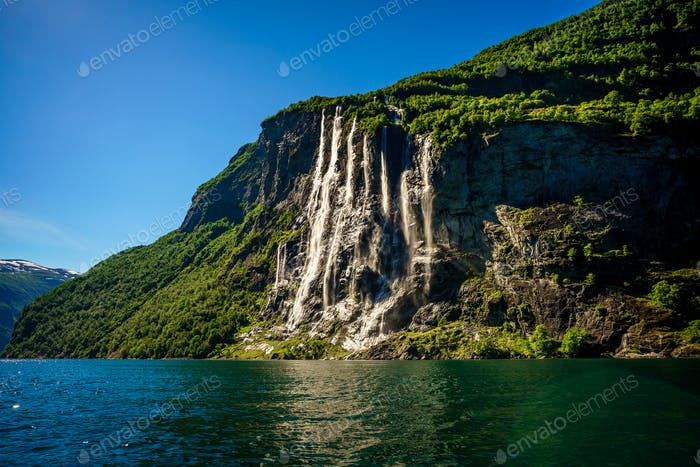 Waterfall Seven Sisters.