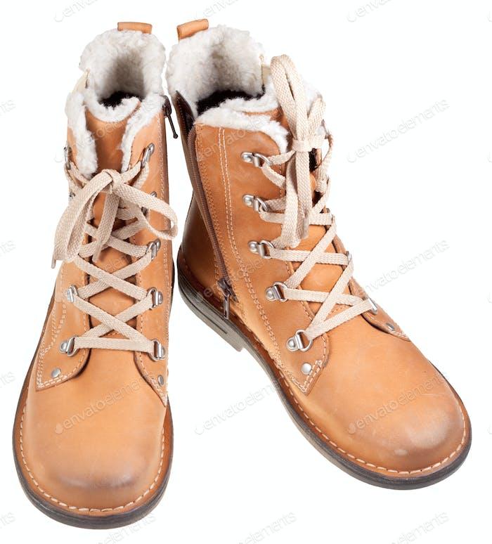 autumn outdoor boots