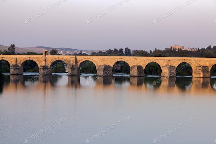 Roman Bridge in Cordoba.