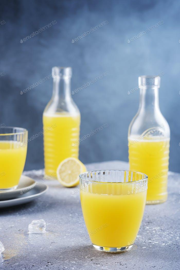 fresh homamade lemonade