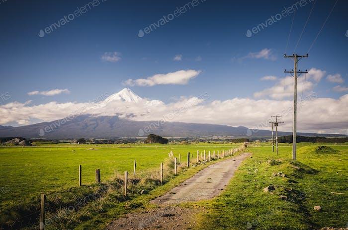 Mount Taranaki, der Fuji von Neuseeland