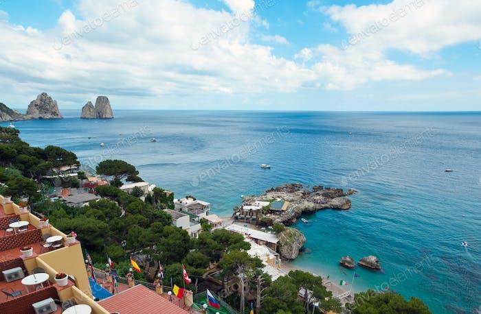 Marina Piccola in Capri, Italien