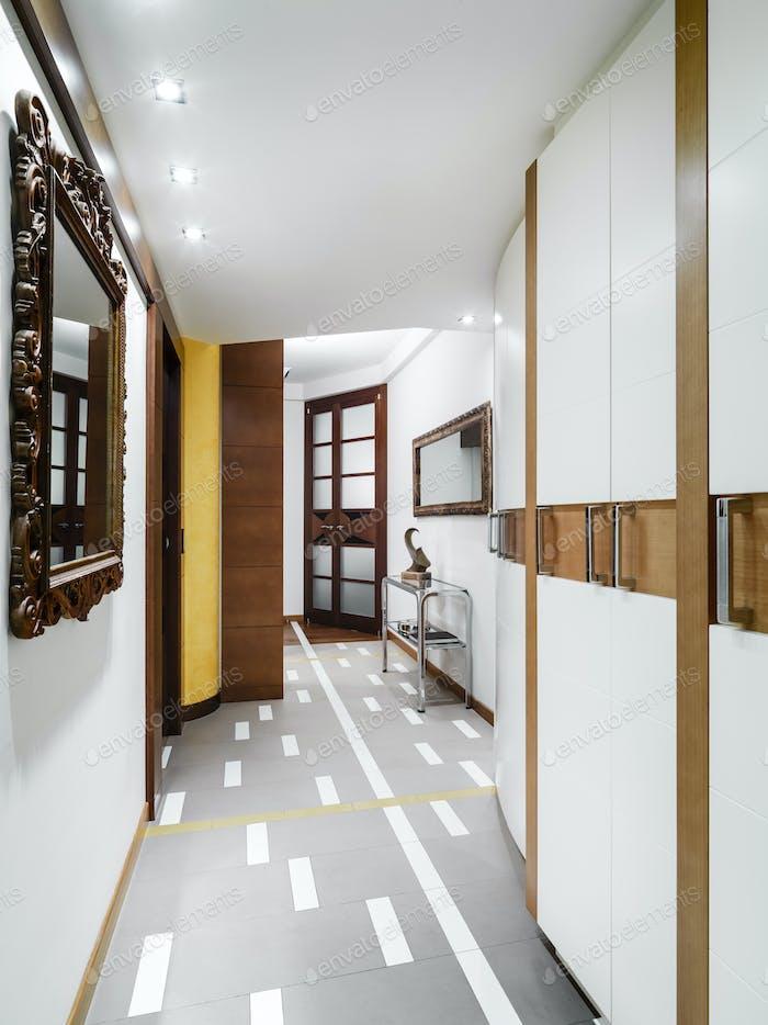 Interiors of a Modern Corridor