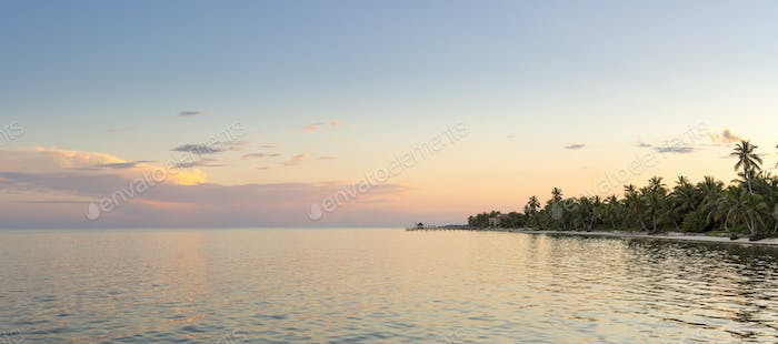 Ambergris Caye Belize Panorama