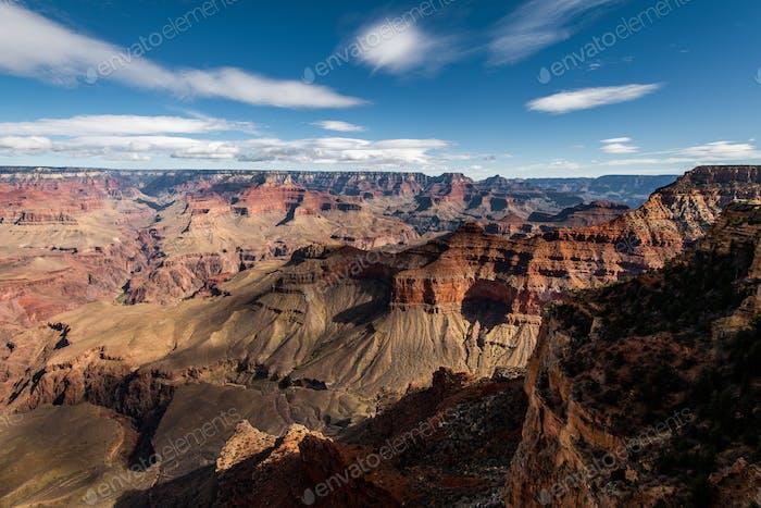Fantastische Aussicht auf einen Grand Canyon, Arizona, USA