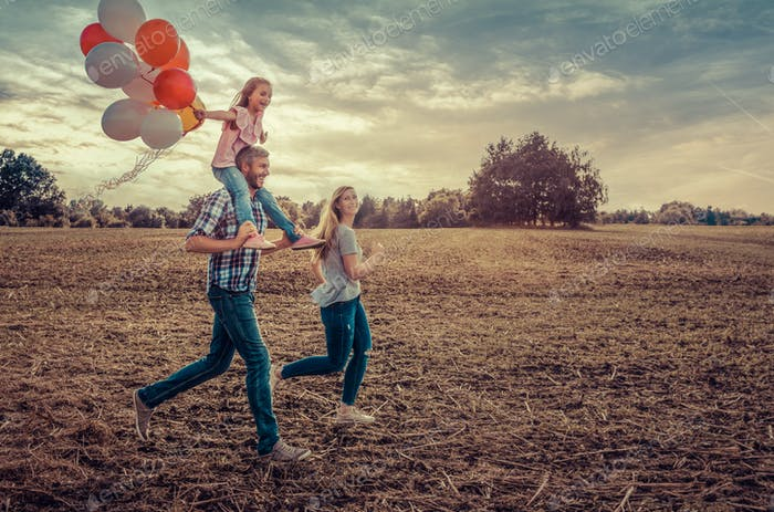 field running family