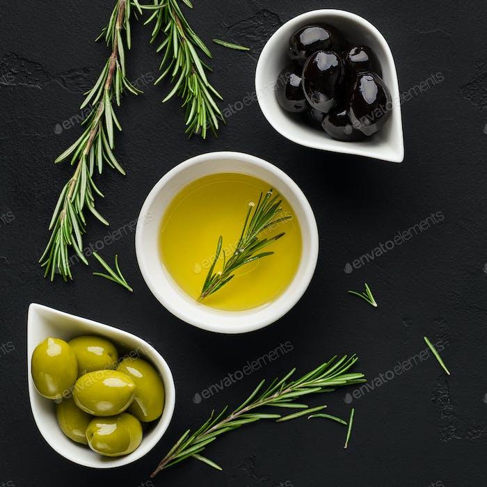 Greek appetizer concept